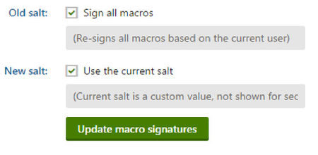 Kentico 8 Upgrade - Sign Macros