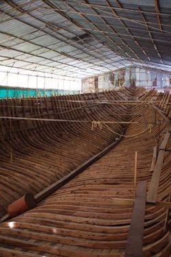 Dhangethi - Boat Hull