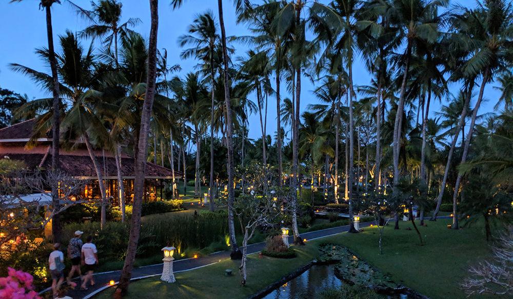 Melia Bali - View from Lobby