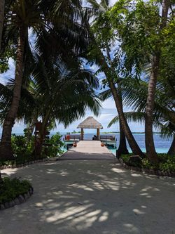 Vilamendhoo Island Resort - Entrance