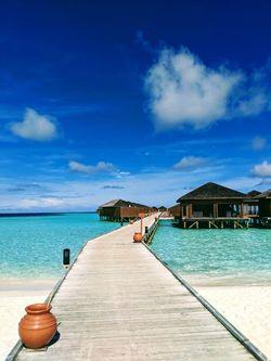 Vilamendhoo Island Resort - Jacuzzi Water Villa
