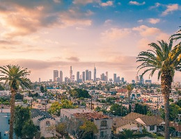 This is a picture of Los Angeles