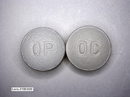 This is a picture of oxycontin pills