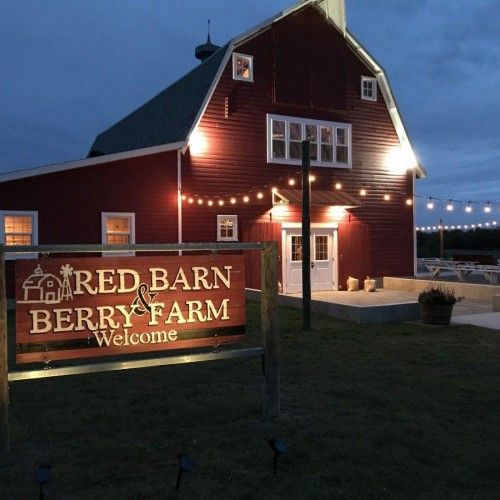 Red Barn and Berry Farm
