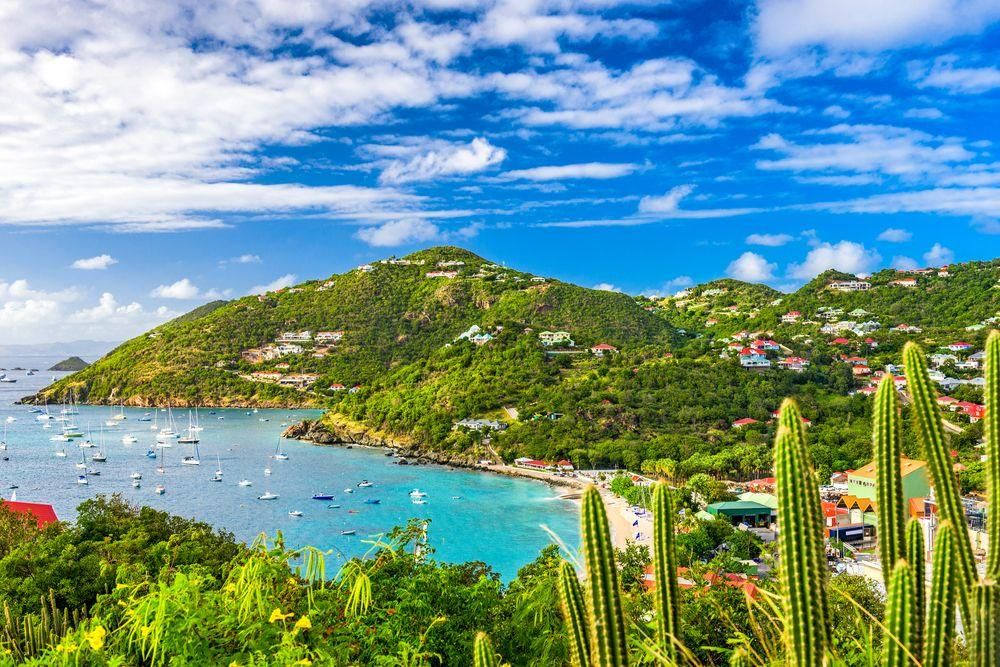 Honeymoon Destinations for Outdoor Enthusiasts: Saint Bart's