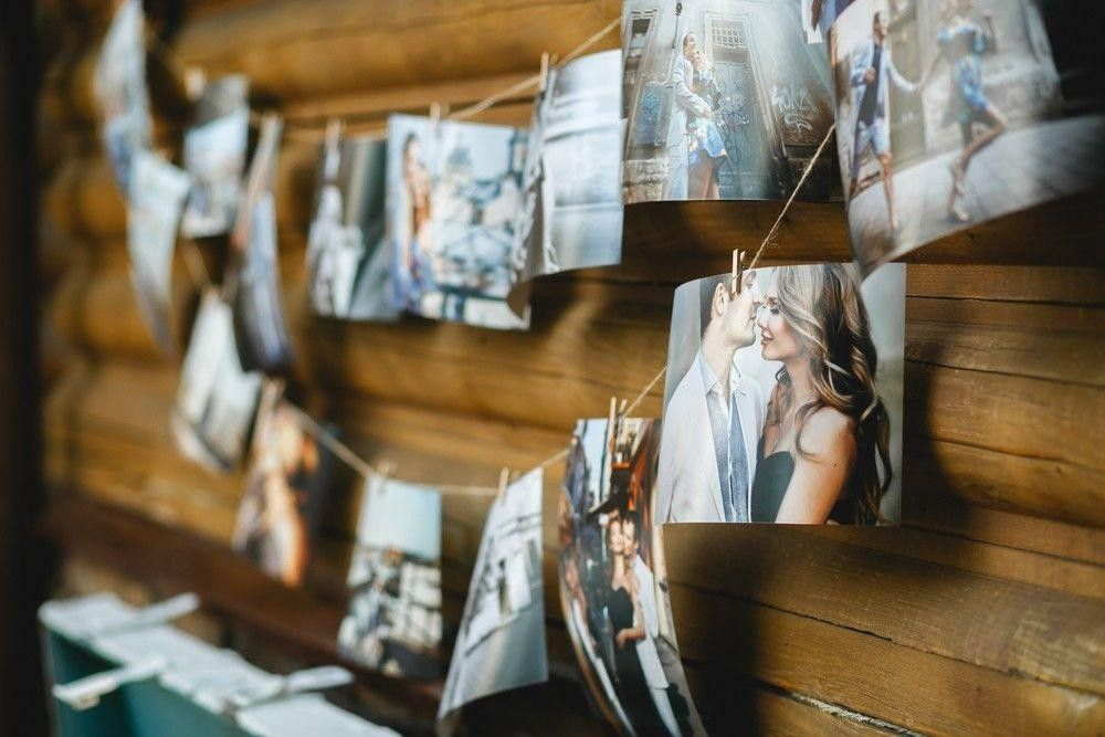 Wedding photos decor
