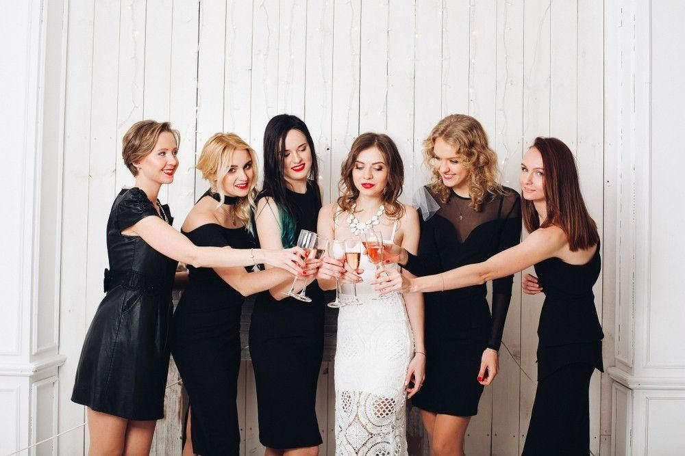 Bridesmaid Black Dresses