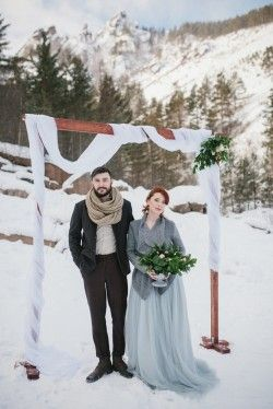 What Should the Bride Wear for a Winter Wedding?