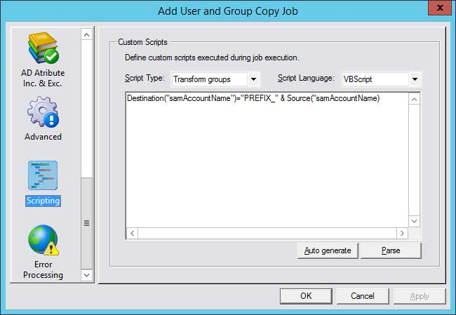 Copyright2 Active Scripting Settings in High Resolution