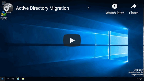 Active Directory Migration Video Thumb