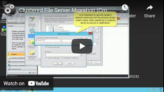 Vorschaubild des Videos über Umstellungen von Windows Hochverfügbarkeits-Servern