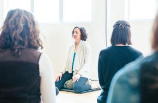 Mindfulness meditation session