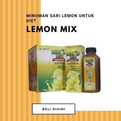 Lemon Mix Sari Lemon Minuman Diet