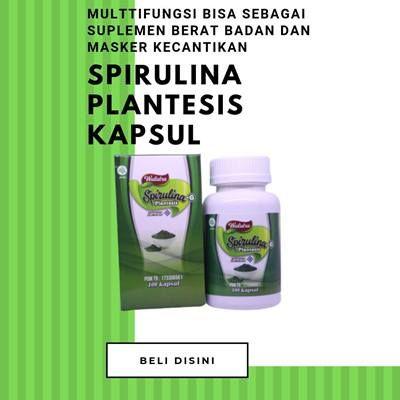 Spirulina Plantesis Kapsul