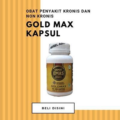 Gold Max Gamat Kapsul