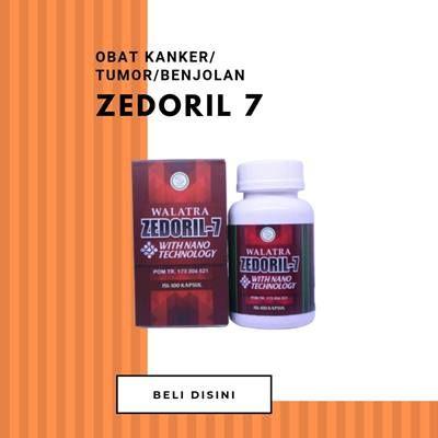 Zedoril 7 Obat Kanker dan Tumor