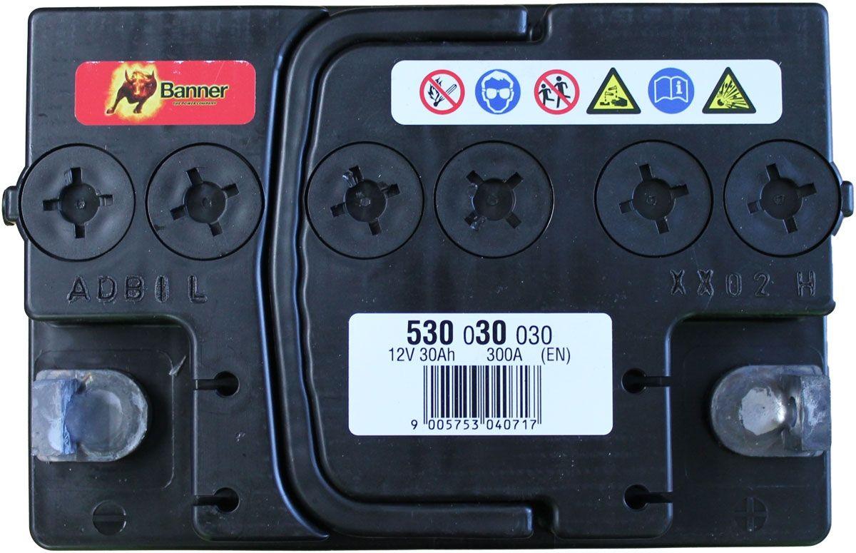 53030 Banner Starting Bull Car Battery 12v 30ah