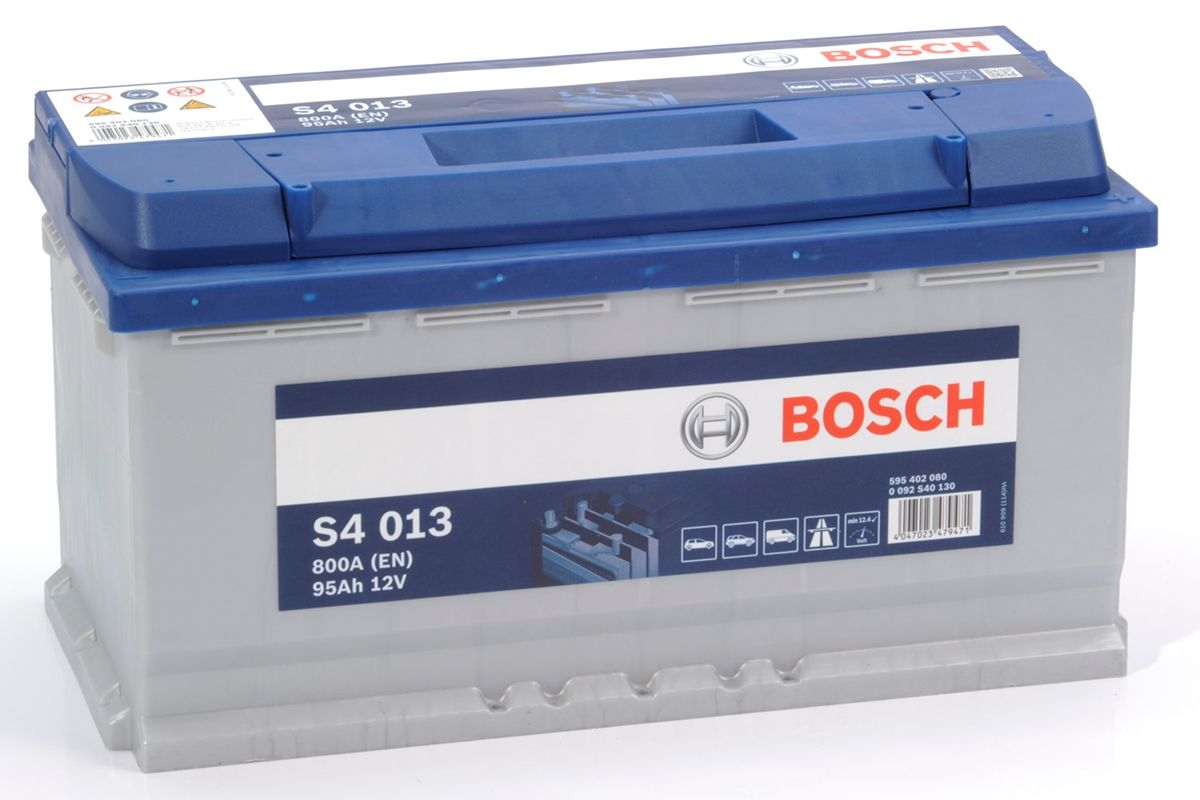 reviews s4 013 bosch car battery 12v 95ah type 019 s4013. Black Bedroom Furniture Sets. Home Design Ideas