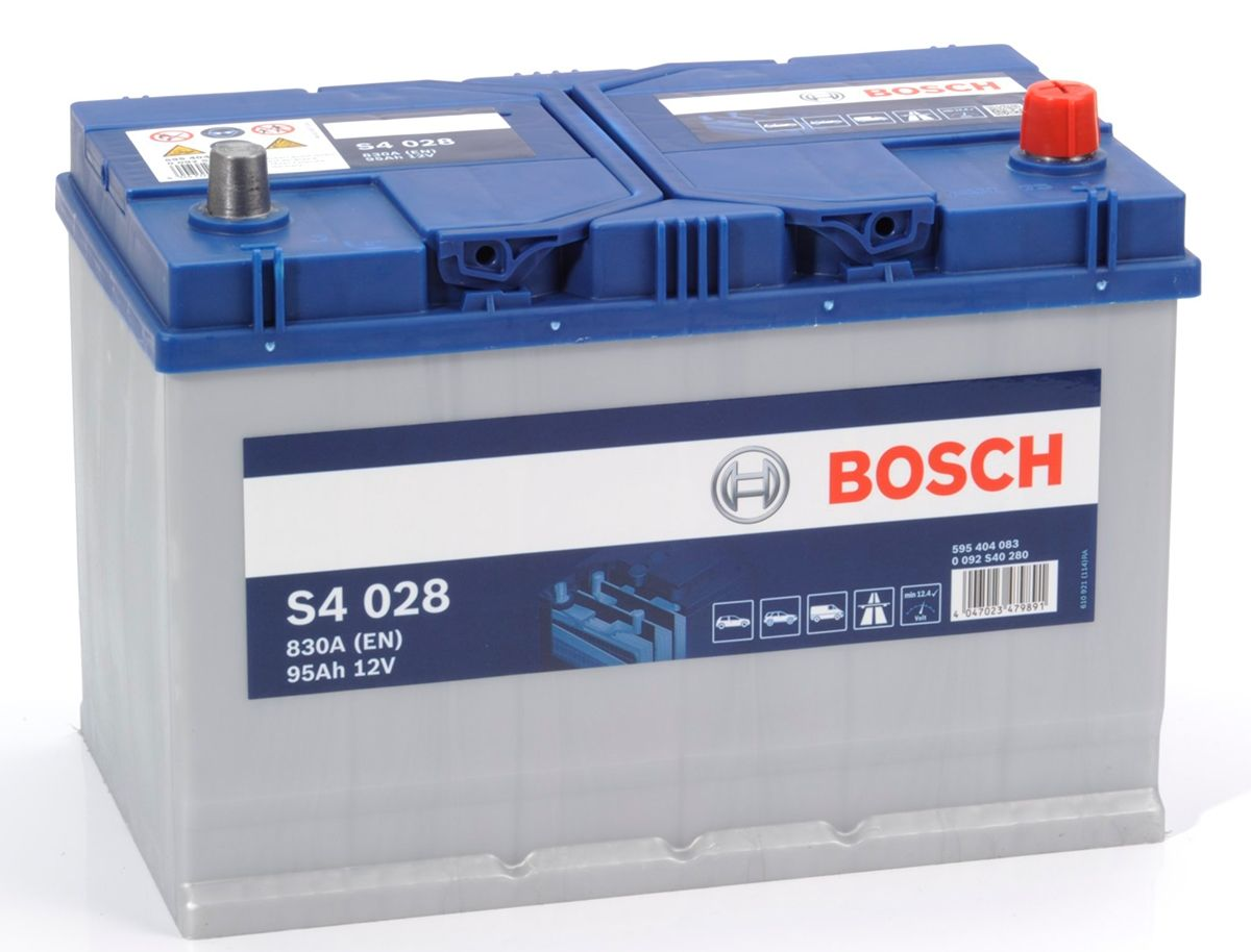 reviews s4 028 bosch car battery 12v 95ah type 249 s4028 page 2. Black Bedroom Furniture Sets. Home Design Ideas