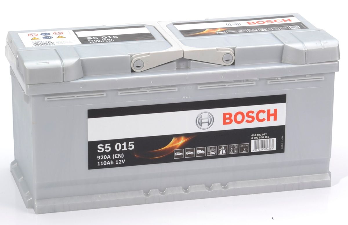 reviews s5 015 bosch car battery 12v 110ah type 020. Black Bedroom Furniture Sets. Home Design Ideas