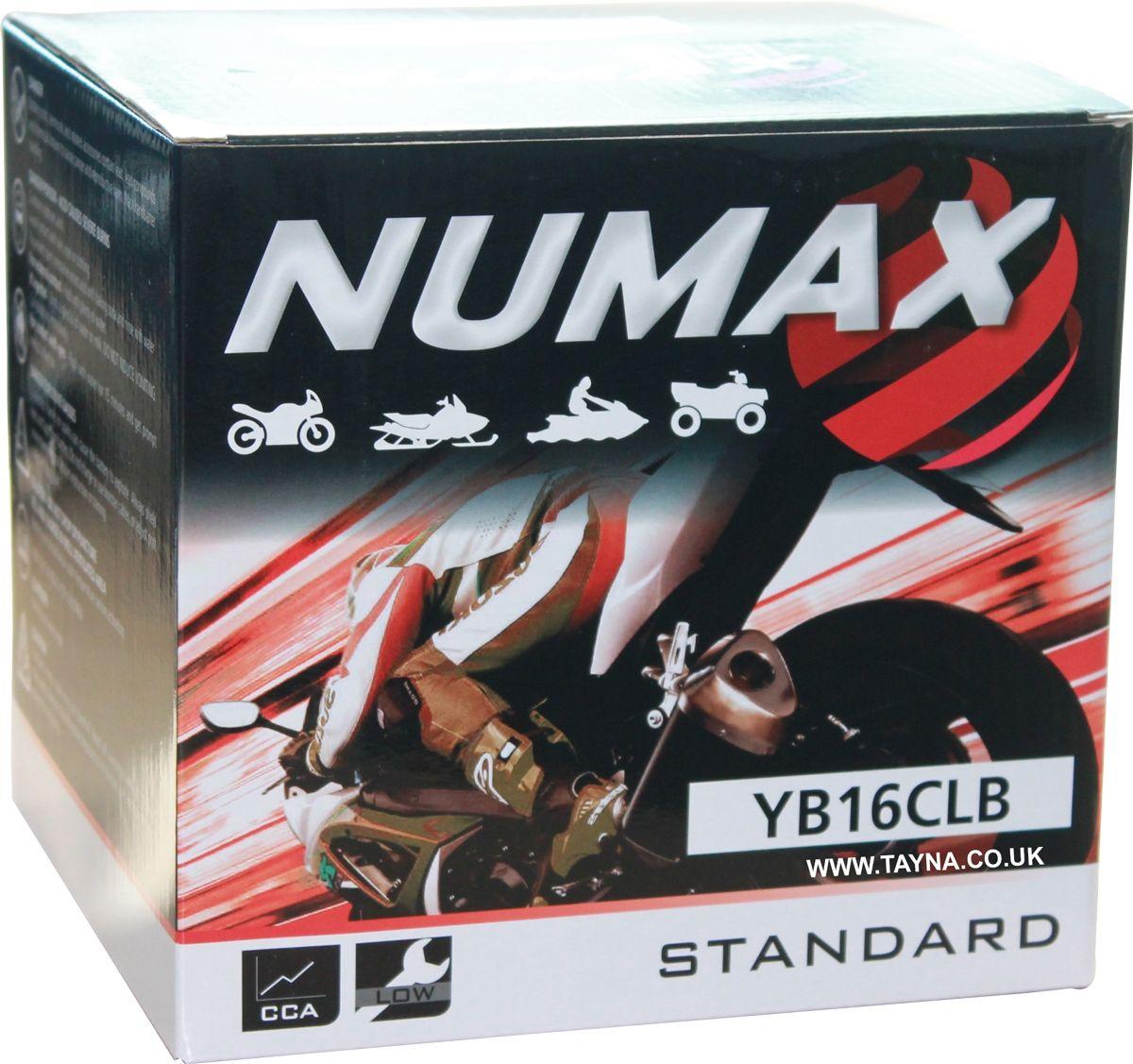 B Battery Numax B Yb16cl Motorbikejetski Yb16cl CxoedB
