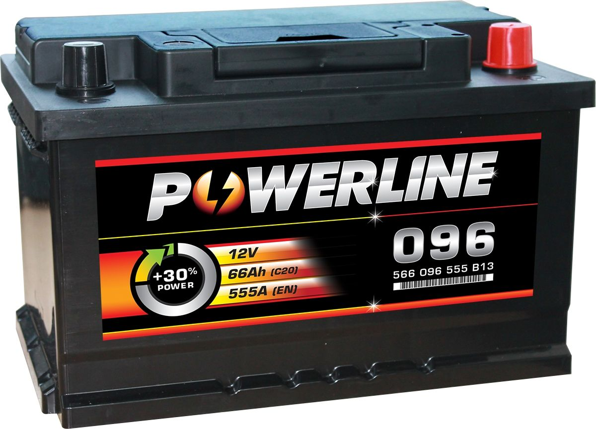 096 Powerline Car Battery 12v Powerline Car Batteries