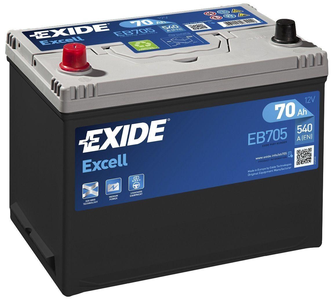 reviews 031se exide excell car battery eb705 ex22 page 1. Black Bedroom Furniture Sets. Home Design Ideas