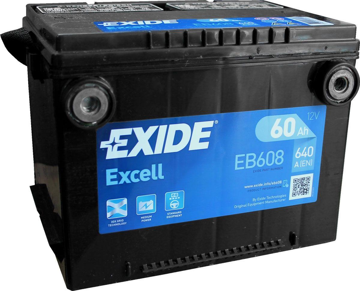 Eb608 Exide Excell Car Battery G75se Exide Car Batteries