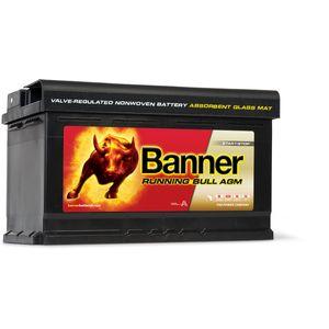 58001 Banner Running Bull 80Ah AGM Leisure Battery
