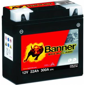 YTX50L-BS Compatible Banner Bike Bull AGM Battery (52214)