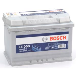 L5008 Bosch Leisure Battery 12V 75Ah L5 008