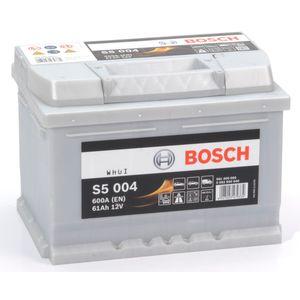 S5 004 Bosch Car Battery 12V 61Ah Type 075 S5004