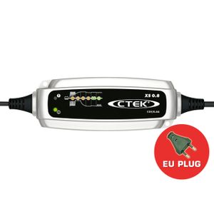 CTEK XS 0.8 12V Battery Smart Charger - EU PLUG