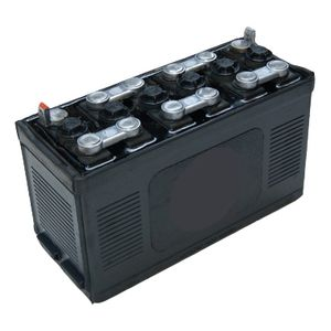 Type 162 Classic Car Hard Rubber Battery 12V 50Ah