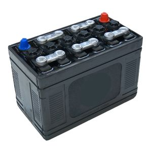 Type 242 Classic Car Hard Rubber Battery 12V 70Ah