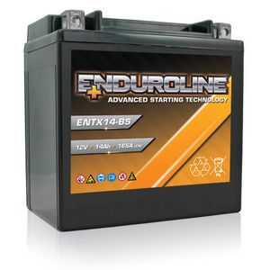 ENTX14-BS Enduroline Advanced Motorcycle Battery 12V 14Ah