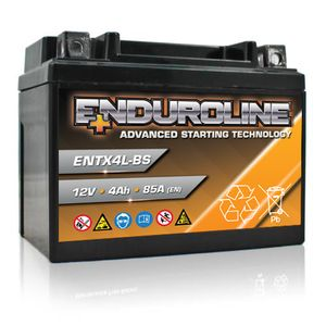 ENTX4L-BS Enduroline Advanced Motorcycle Battery 12V 4Ah