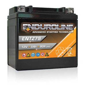 ENTZ7S Enduroline Advanced Motorcycle Battery 12V 5Ah