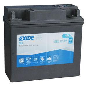 GEL12-19 Exide BMW Motorcycle Battery - 51913