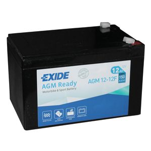 AGM12-12F Exide Motorcycle Battery 12V (4924)