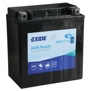 AGM12-16 Exide Motorcycle Battery 12V (4920)