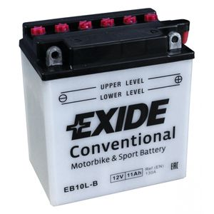 Exide EB10L-B 12V Conventional Motorcycle Battery