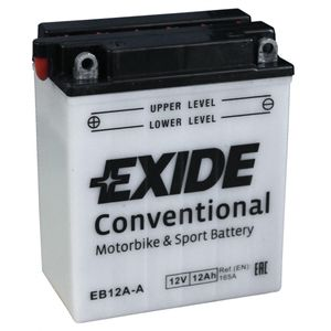 Exide EB12A-A 12V Conventional Motorcycle Battery