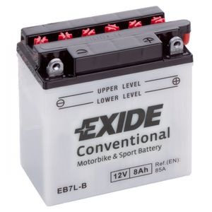 Exide EB7L-B 12V Conventional Motorcycle Battery
