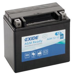 AGM12-12 Exide Motorcycle Battery 12V