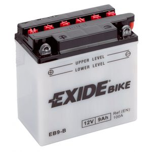 Exide EB9-B 12V Conventional Motorcycle Battery