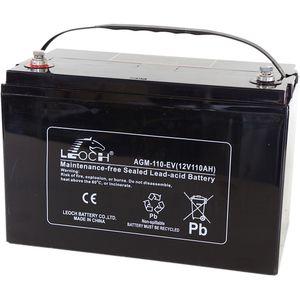 Leoch AGM-110-EV Mobility Battery 12V 110Ah