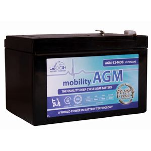 Leoch AGM 12 Mobility Battery 12V 12Ah
