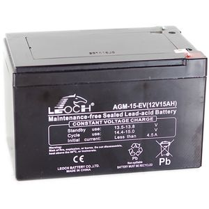 Leoch AGM-15-EV Battery 12V 15Ah