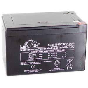 Leoch AGM-15-EV Battery 12V 15Ah